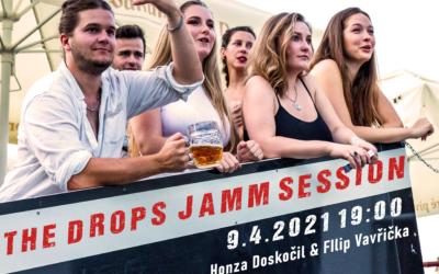 The Drops Jamm Session pátek 9.4. 2021 v 19:00